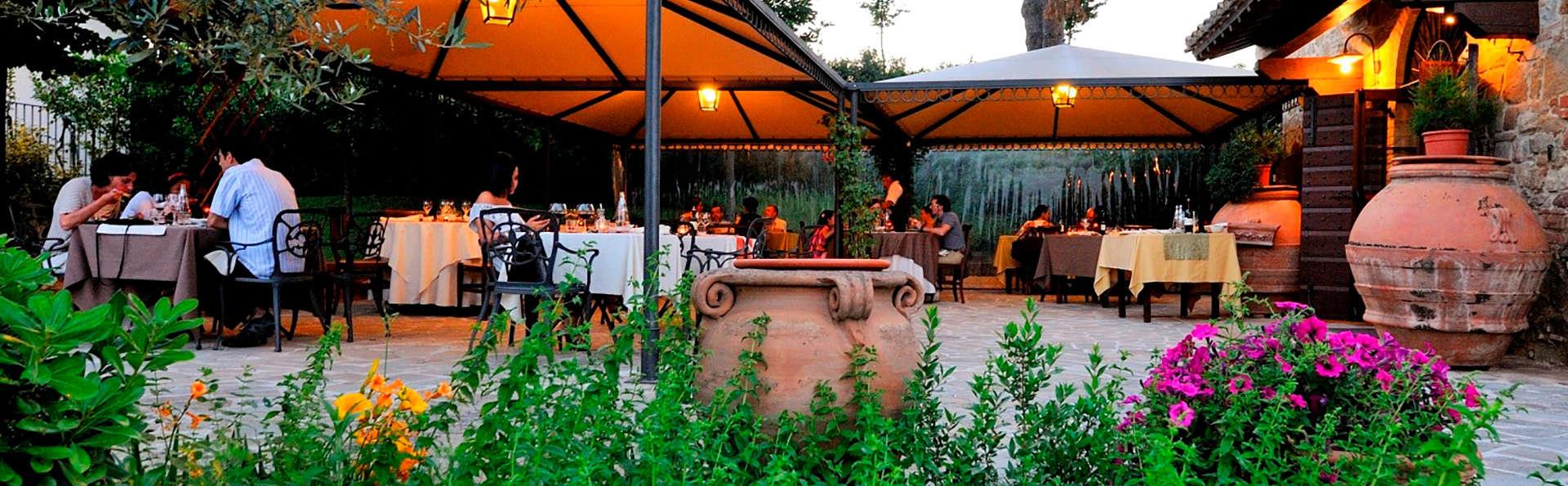 Cena romántica a las puertas de Perugia