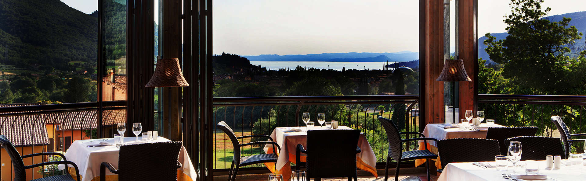 Séjour avec dîner et vue sur le Lac de Garde (à partir de 2 nuits)