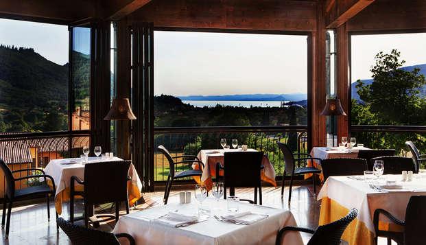 Escapada con cena y vista al Lago de Garda (desde 2 noches)