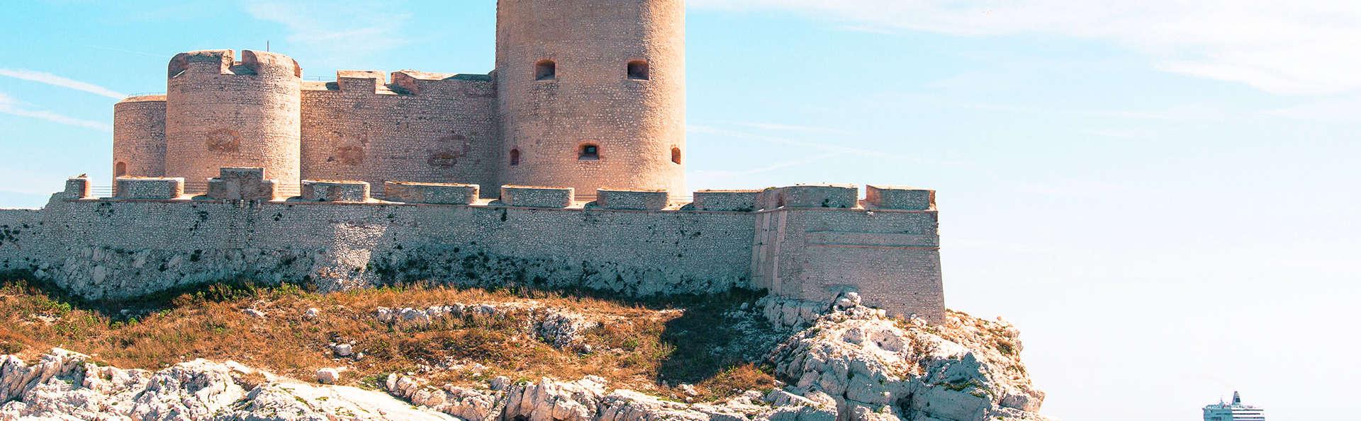 Week-end à Marseille avec visite du château d'If