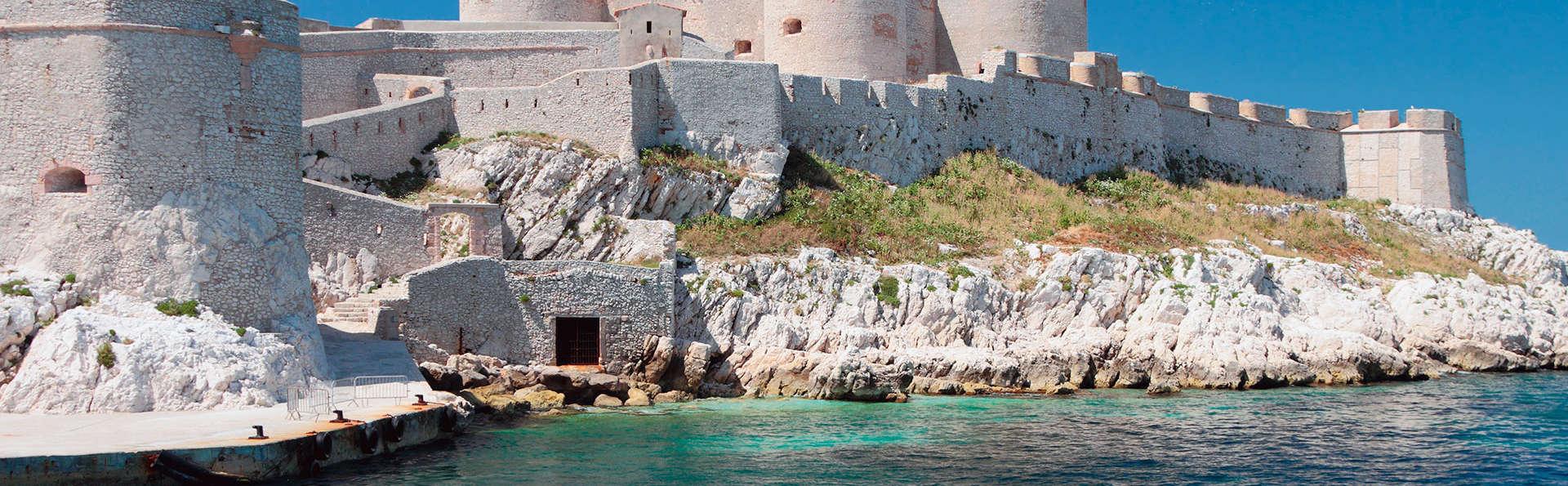 Week-end à Marseille avec billets pour le château d'If