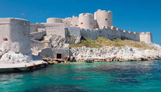 Fin de semana en Marsella con entradas para el castillo de If