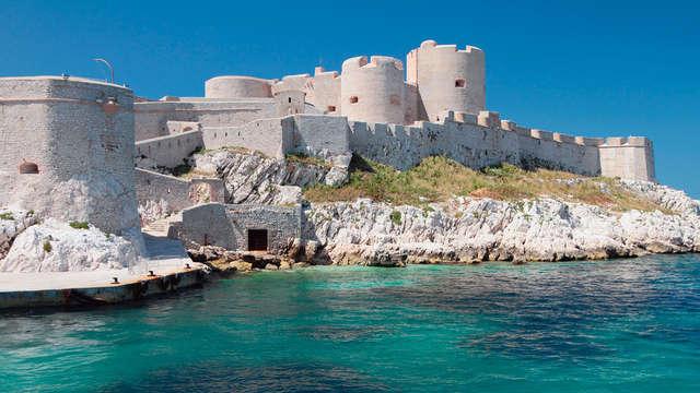 Week-end citadin avec visite du château d'If à Marseille