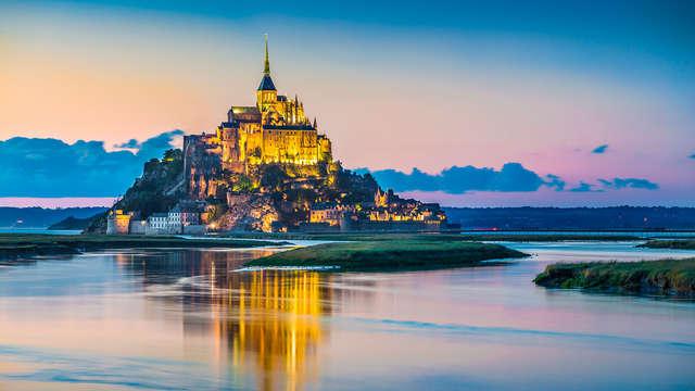 Visite du Mont-Saint-Michel et atmosphère design