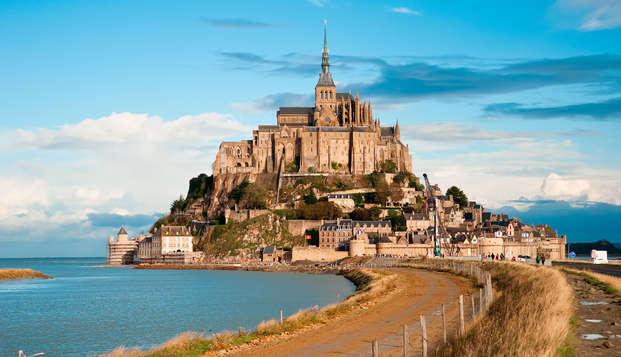 Week-end face au Mont-Saint-Michel avec visite du Mont Saint Michel