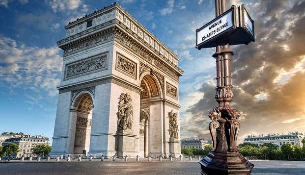 Design au cœur de Paris avec visite de l'Arc de Triomphe