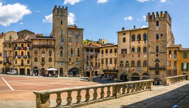 Offre spéciale à Arezzo avec dégustation de vins, à ne pas manquer !