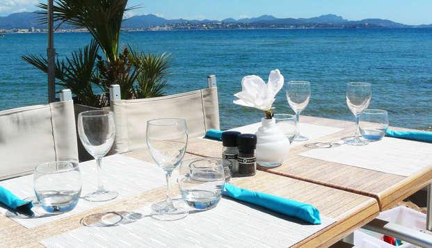 Escapade gourmande 4 étoiles proche de Fréjus avec dîner face à la mer