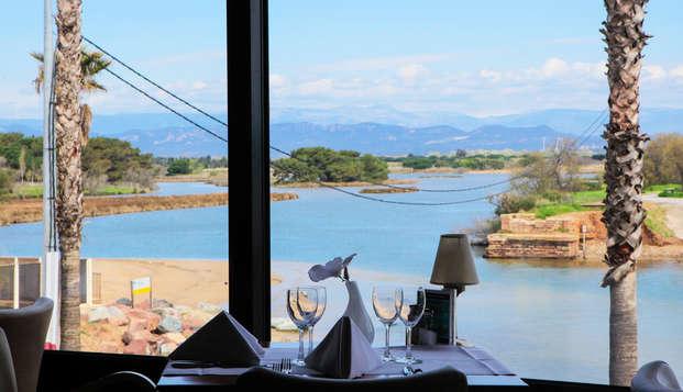 Hotel Saint-Aygulf - restaurantview