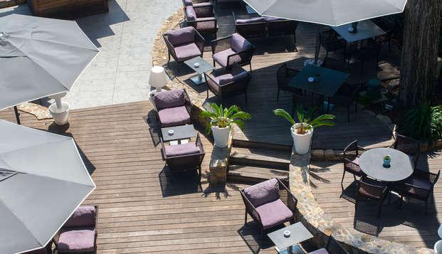Hotel Saint-Aygulf - terraceaerea