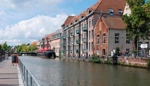 Ontspannen in de wellness na een heerlijke wandeling in Mechelen