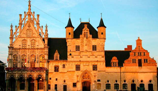 Ontdek het historische Mechelen met een bezoek aan de oude kazerne (vanaf 2 nachten)