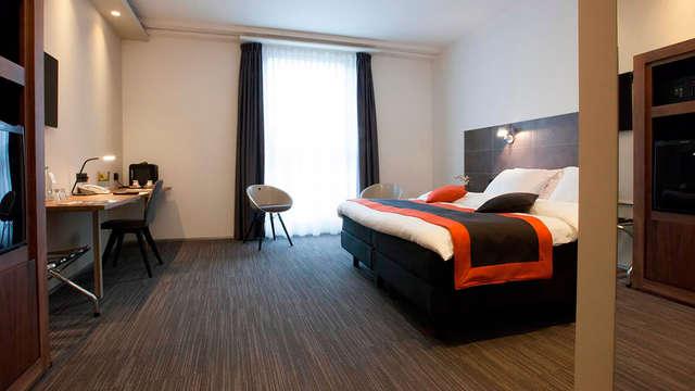 1 overnachting in een tweepersoons kamer deluxe voor 2 volwassenen