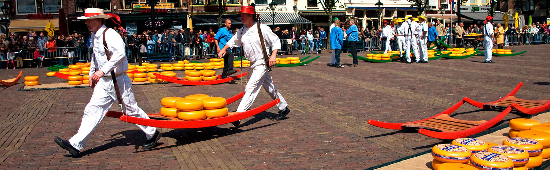 Goûtez au meilleur des Pays-Bas dans la ville du fromage de Gouda