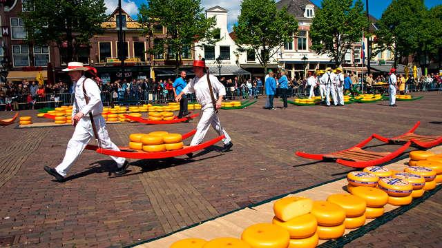 Dégustation dans la célèbre ville de Gouda aux Pays-Bas