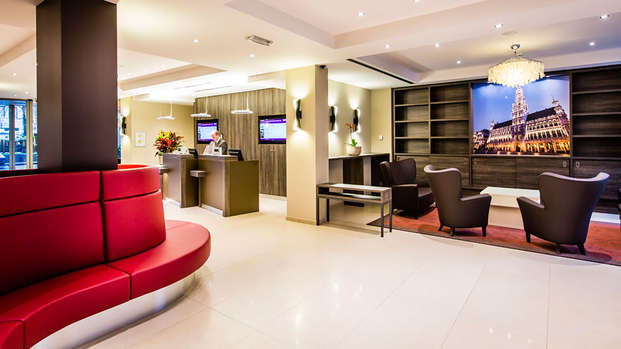 Mercure Brussels Centre Midi - reception
