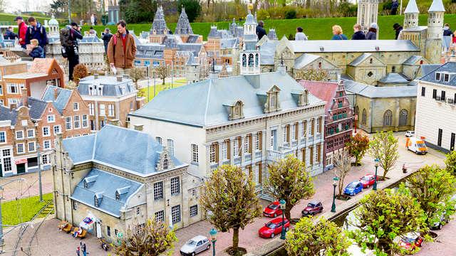 Visite des Pays-Bas en miniature à Madurodam
