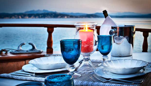 Soggiorno romantico con cena, spa e trattamento in Suite!