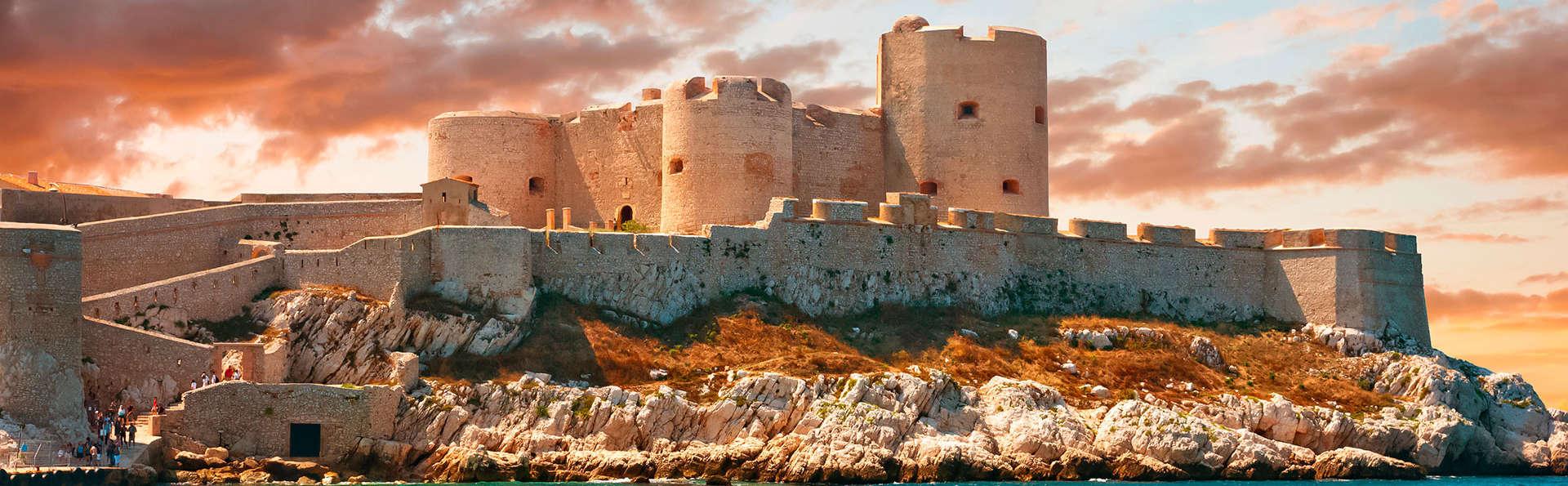 Découvrez Marseille avec visite du château d'If