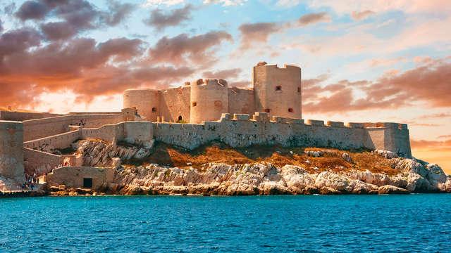 Alla scoperta della Provenza con ingresso al Castello d'If