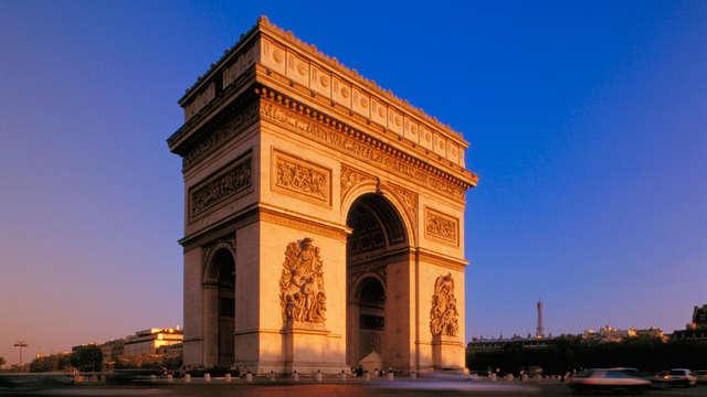 Visitez l'Arc de Triomphe lors d'un séjour deluxe au cœur de Paris