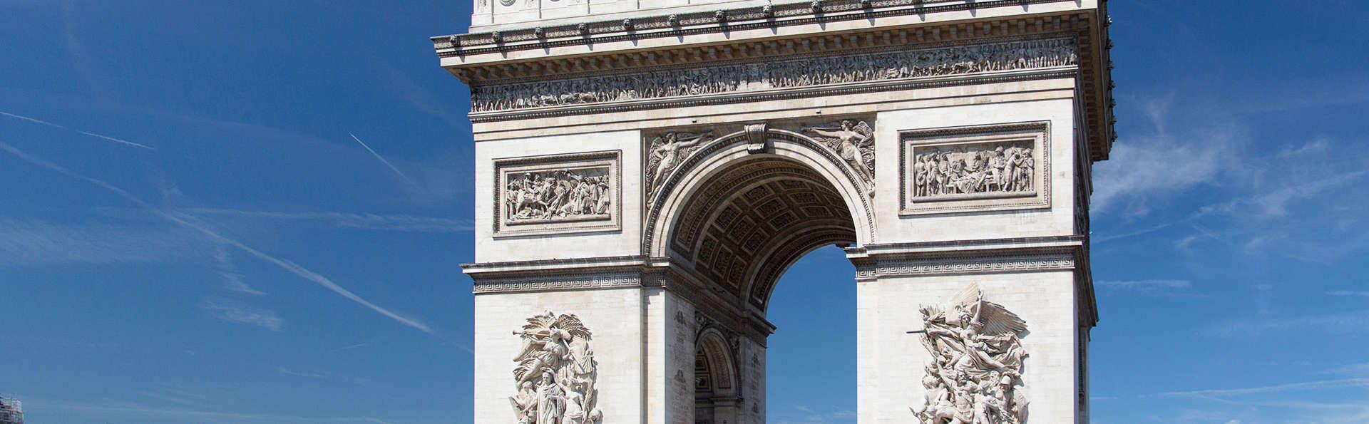 Profitez de votre séjour à Paris pour visiter l'Arc de Triomphe !