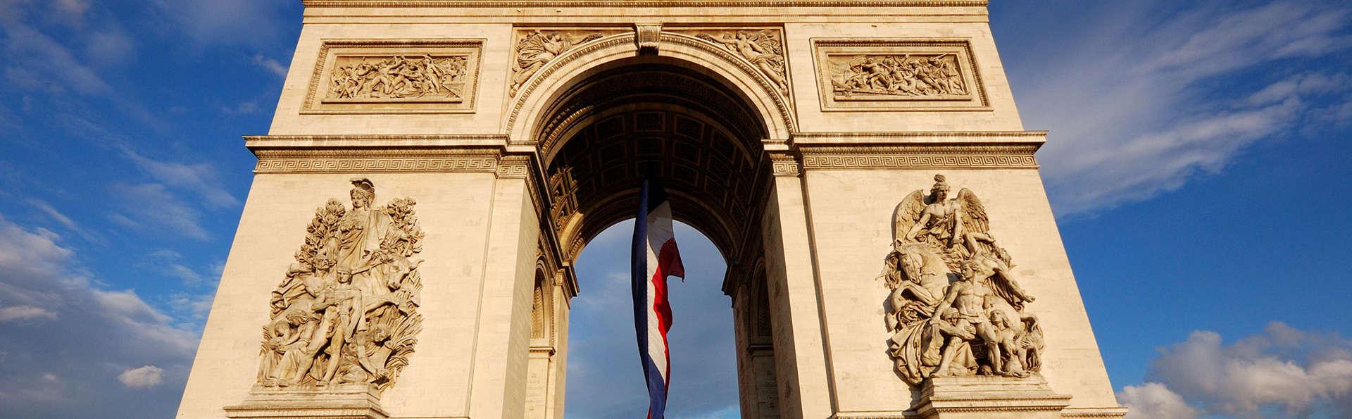 Visitez l'Ac de Triomphe lors d'un week-end 4* dans la ville lumière