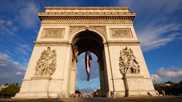 Visita el Arco del Triunfo durante un fin de semana 4* en la Ciudad de las Luces