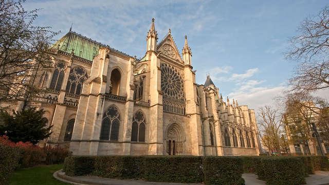 1 Visite de la Basilique cathédrale de Saint-Denis pour 2 adultes
