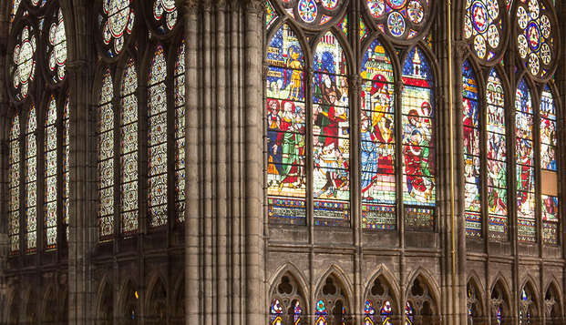 Ontdek de Kathedrale basiliek van Saint-Denis