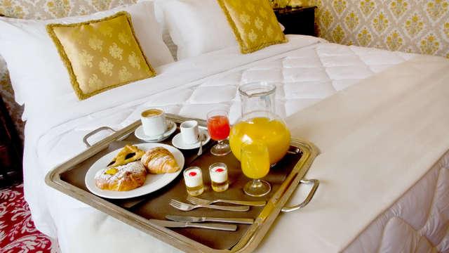 Romance à Chianciano Terme dans un bel hôtel 4*