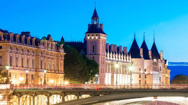Visita la Sainte Chapelle y la Conciergerie durante una estancia 3* en París