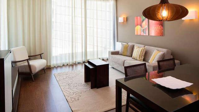 3 overnachtingen in een standaard suite voor 2 volwassenen