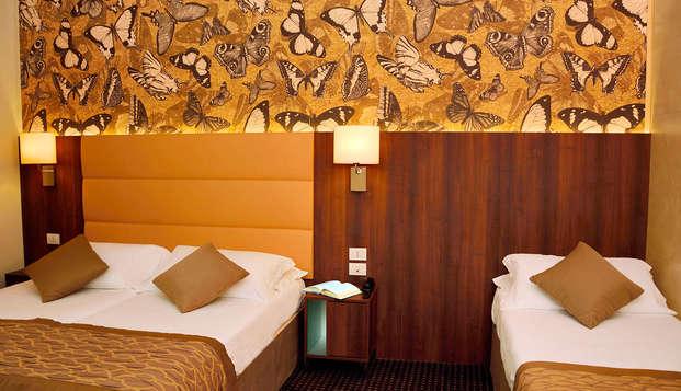 A Venezia Mestre in un comodo hotel adatto a tutti i comfort