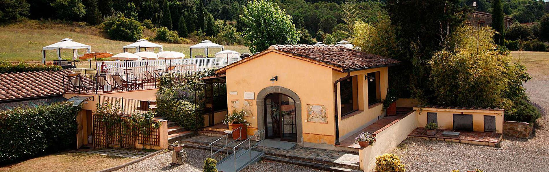 Week-end dans la nature sous le soleil de Toscane