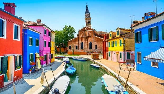 3 nuits de vacances pour découvrir la magie de Venise et de ses îles les plus célèbres