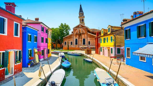 Tre notti alla scoperta di Venezia e delle isole di Murano e Burano!