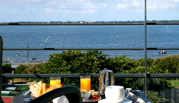 Thalasso Concarneau Spa Marin Resort - breakfast view