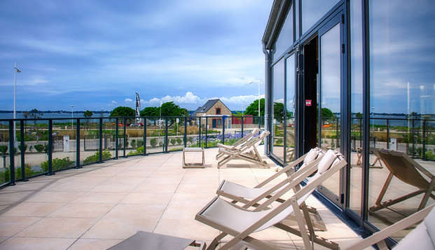 Thalasso Concarneau Spa Marin Resort - terrace