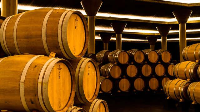 Escapada enológica en un exclusivo hotel de Logroño con visita a bodega y degustación de vinos