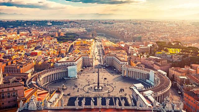 Nel cuore di Roma in un lussuoso hotel*