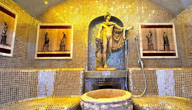 Relaxation et bien-être dans un hôtel de luxe à Rome