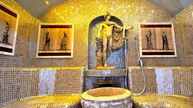 Nuit dans la capitale italienne avec spa sur le thème de la Rome Antique