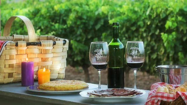 La Rioja al completo: Paseo por viñedos, cata de vino y productos riojanos y visita una bodega