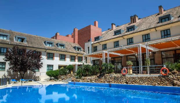 Escapada en habitación con balcón, cena y spa en Antequera (desde 2 noches)