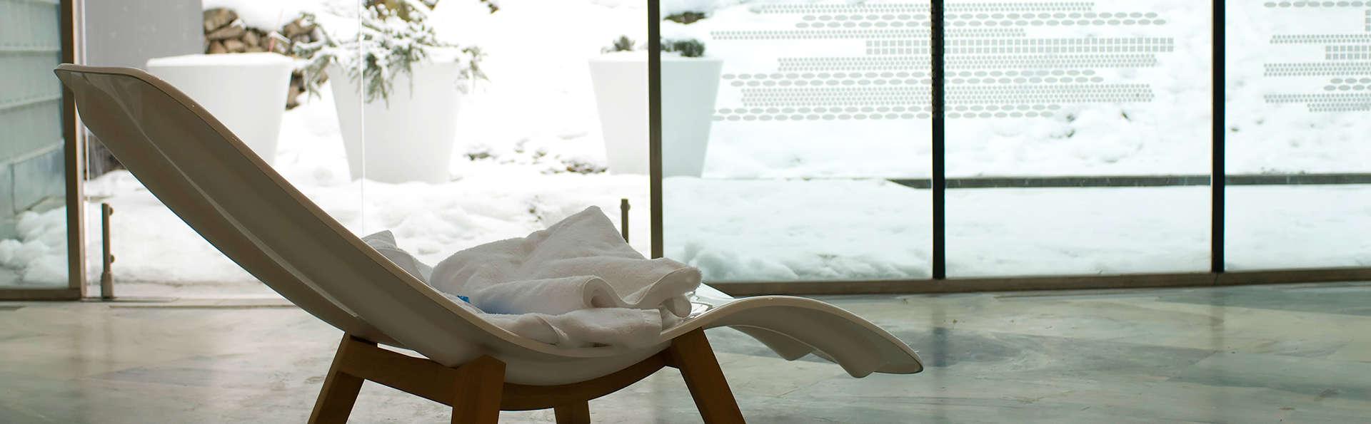 Es momento de descansar: Con pensión completa incluida en un balneario rodeado de montañas