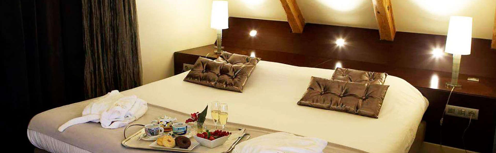 Romanticismo, lujo y encanto con acceso a la zona relax en un hotel exclusivo en Solsona