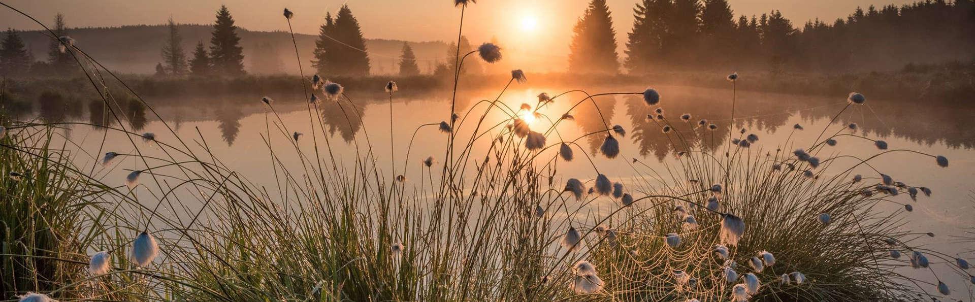 Overnachting in het hart van het prachtige natuurgebied de Hoge Venen