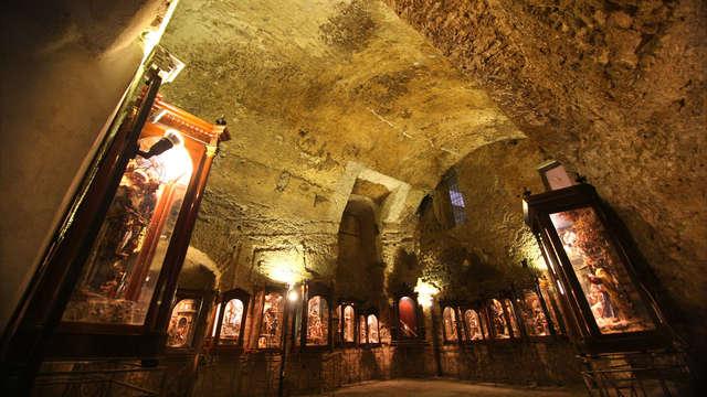 Séjour à Posillipo avec vue sur le golfe de Naples et visite des souterrains de la ville