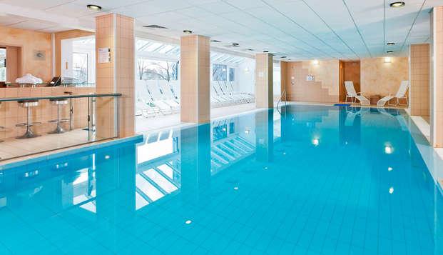 Weekend met massage in een executive kamer met zicht op het meer  in Spa